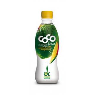 Dr. Antonio Martins Coco Juice Mango, 0,33 ltr Fla