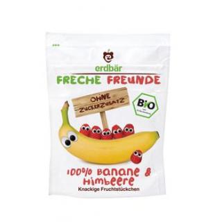 erdbär Freche Freunde Fruchtchips Banane / Himbeer