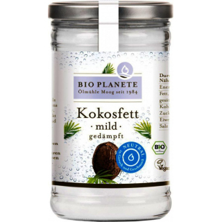 Bio Planète Kokosfett mild gedämpft, 1 ltr Glas