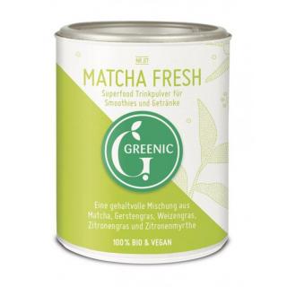 Greenic Matcha Fresh Superfood Trinkpulver, 80 gr