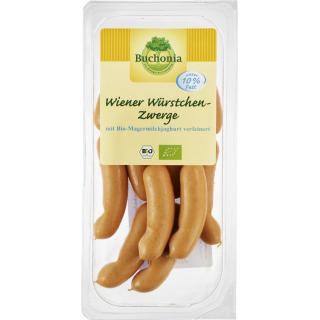 Buchonia Bio Wiener Würstchen-Zwerge, 200 gr Packu