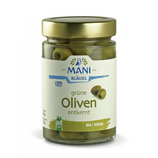 Mani Bläuel Grüne Oliven,  in Lake entkernt,  350