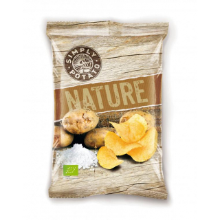 Gastina Simply Potato Nature Chips, 100 gr Beutel