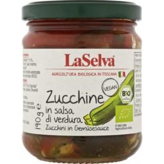 Gegrillte Zucchini in Gemüsesauce 190 g