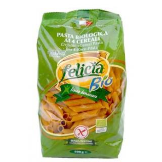 Felicia 4-Korn Penne, 500 gr Packung -glutenfrei-