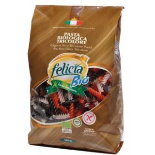 Felicia Reis Tricolore Fusilli, 500 gr Packung -gl