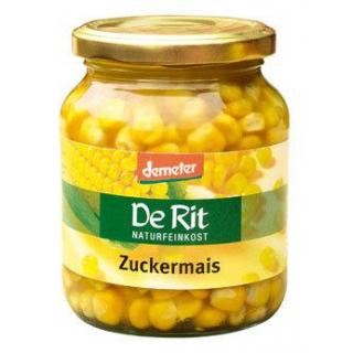De Rit Zuckermais, 340 gr Glas