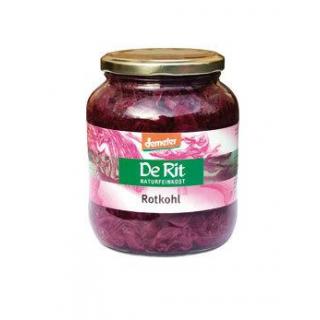 De Rit Rotkohl, 680 gr Glas