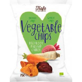 Trafo Gemüse-Chips, 75 gr Packung