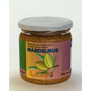 Monki Mandelmus, 330 gr Glas