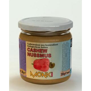 Monki Cashew Nussmus, 330 gr Glas