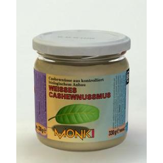 Monki Weißes Cashewnussmus, 330 gr Glas