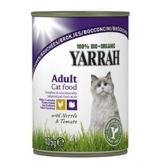 Yarrah Katzenfutter Bröckchen Huhn und Truthahn, 4