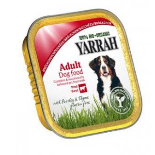 Yarrah Hundefutter Bröckchen Huhn und Rind, 150 gr