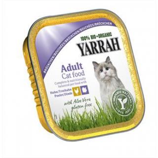 Yarrah Katzenfutter Bröckchen Huhn und Truthahn, 1