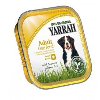 Yarrah Hundefutter Paté Huhn und Seetang, 150 gr A