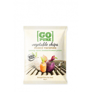 Go Pure Gemüse-Chips, 90 gr Packung