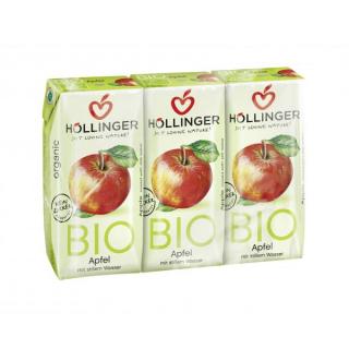 Höllinger Apfel, mit Wasser ohne Kohlensäure, 3x 2